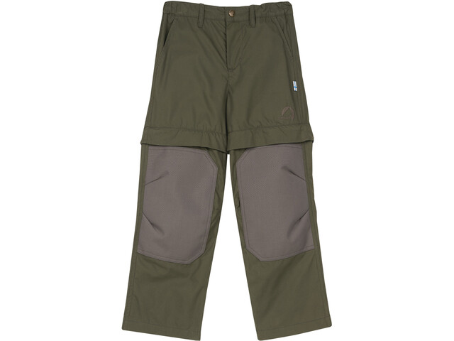 Finkid Urakka Pantalon Enfant, grape leaf/elephant